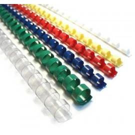 Hřbet plastový kroužkový  8mm, 21-40 ls (2 barvy)