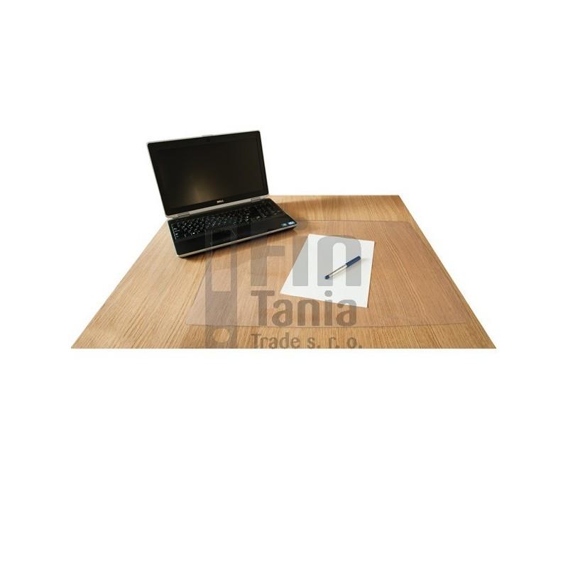 Psací podložka na stůl 50x70 průhledná 020205700 psací podložky