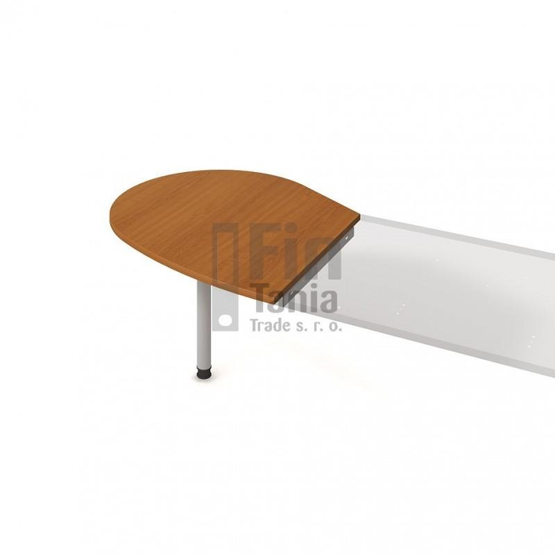 Psací stůl Hobis Gate GP 20 L, Barva nohou celobarva, Barva stolové desky Akát Office Pro 098003199 Psací stoly