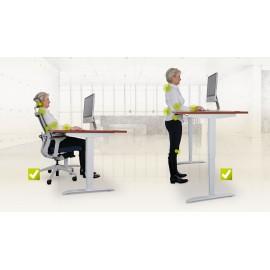 stoly Hobis Motion ERGO - umožní správné sezení i práci ve stoje