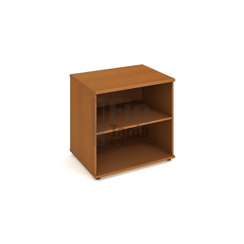 Skříň Hobis ke stolu SP 80 60 léta napříč - 80 x 60, Barva korpusu Olše Office Pro 099212099 Policové skříně