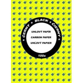 Papír uhlový černý A4, H114, 100 listů