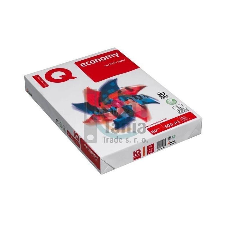 Kancelářský papír A3/ 80g IQ Economy 010101400