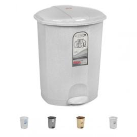 Koš odpadkový plastový s pedálem, 30 litrů