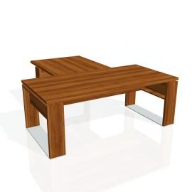 Stůl psací + jednací EXNER ES 2 - 200x220x74