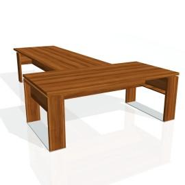 Stůl psací + jednací EXNER ES 4 - 200x370x74