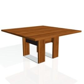 Stůl jednací EXNER EJ 3 K, kůže - 150x150x74