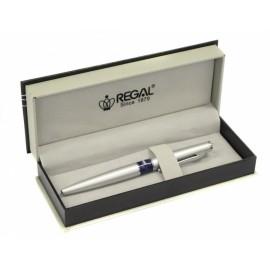 Psací souprava Mercurius Regal stříbrná - plnící pero