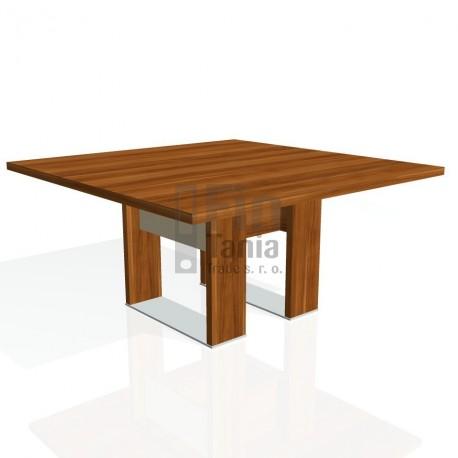 Stůl jednací EXNER EJ 3 S, sklo - 150x150x74