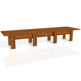 Stůl jednací EXNER EJ 5 - 420x120x74