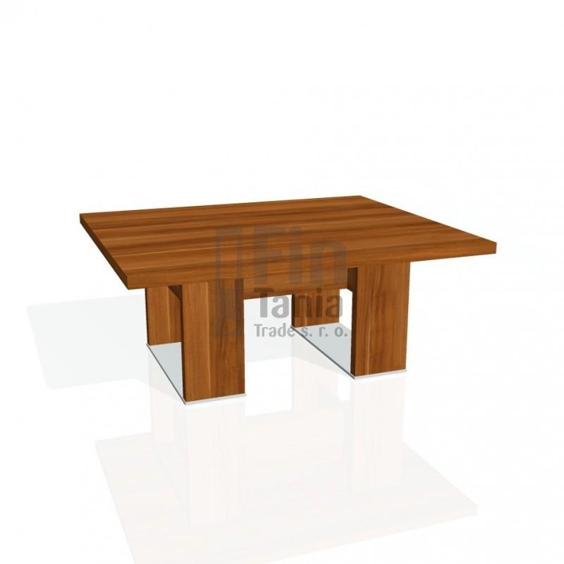 Stůl konferenční EXNER EJ 7 - 120x100x50, Barva Dub antracit Exner 072071800