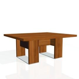 Stůl konferenční EXNER EJ 7 K, kůže - 120x100x50