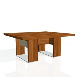 Stůl konferenční EXNER EJ 7 S, sklo - 120x100x50