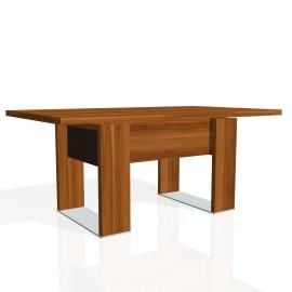 Stůl jednací EXNER EJ 8 K, kůže - 170x100x74