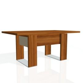 Stůl jednací EXNER EJ 8 S, sklo - 170x100x74