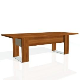 Stůl jednací EXNER EJ 9 S, sklo - 240x100x74