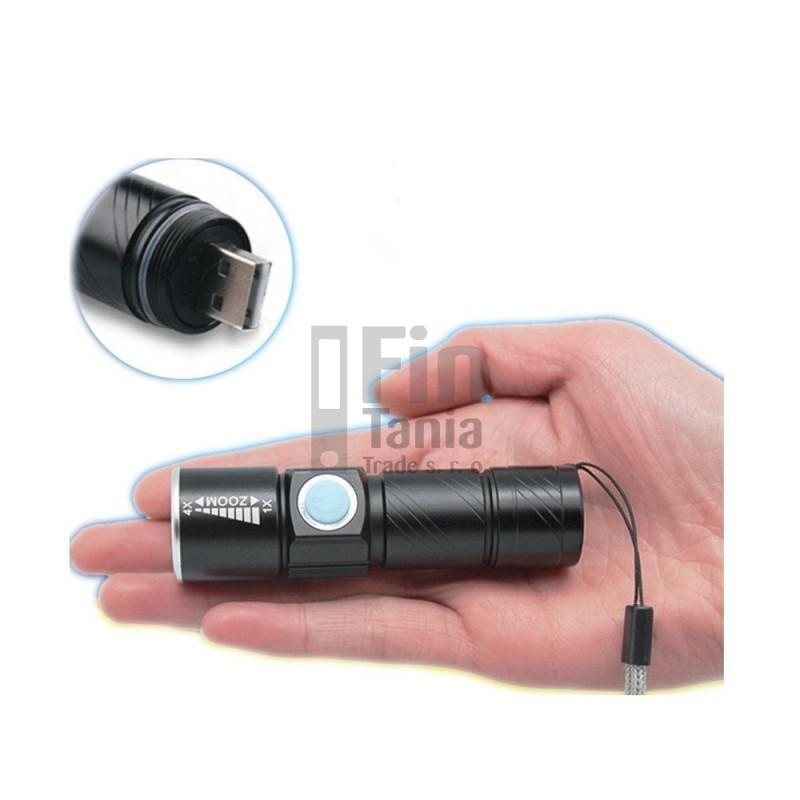 svítilna LED s USB nabíjením 110102900 svítilny