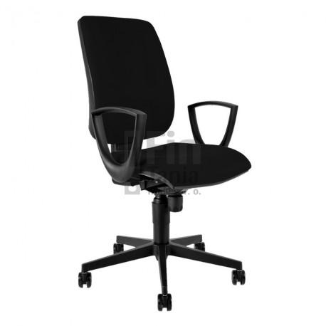 Kancelářská židle 1380 SYN FLUTE + BR 29 (4 barvy)