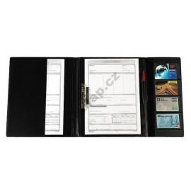 Desky plastové pro řidiče 3xA5 s rychlosvorkou