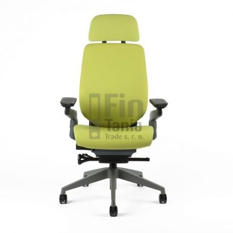 OfficePro kancelářská židle KARME s podhlavníkem (3 barvy)