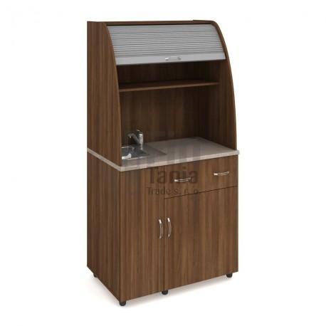 Kuchyň HOBIS vybavená KU 2 1 L, dřez, baterie - 90 x 60