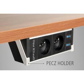 zásuvkový panel VAULT PECZ B 001 na hranu stolu