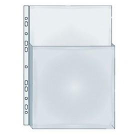 Zakládací obal A4 na katalogy do 2/3 otevřený, euroděrování