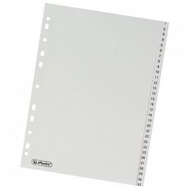 Rozdružovač A4 číselný, 1-31 šedý plast