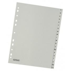 Rozdružovač A4 abecední A - Z šedý plast