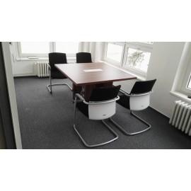 Stůl jednací EXNER EJ 3 - 150 x 150 x 74 cm