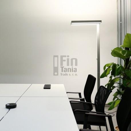 stojací led lampa EVER Double Light 5400 lm - osvětlení stolu i kanceláře