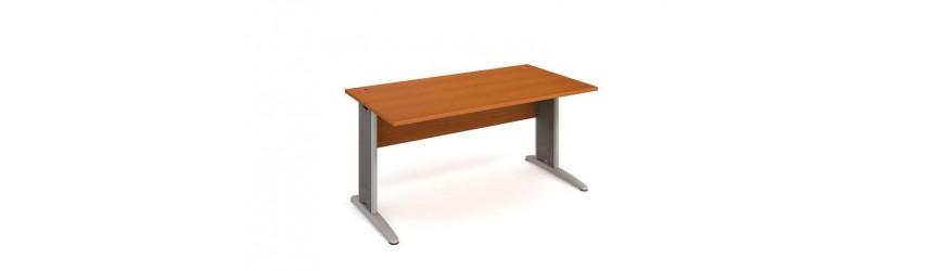 Psací stoly rovné
