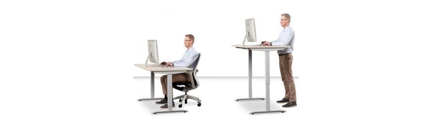 Výškově nastavitelné stoly MOTION a MOTION ERGO