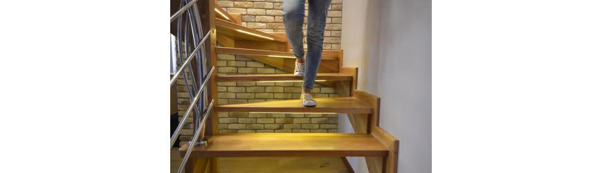 Inteligentní osvětlení schodů