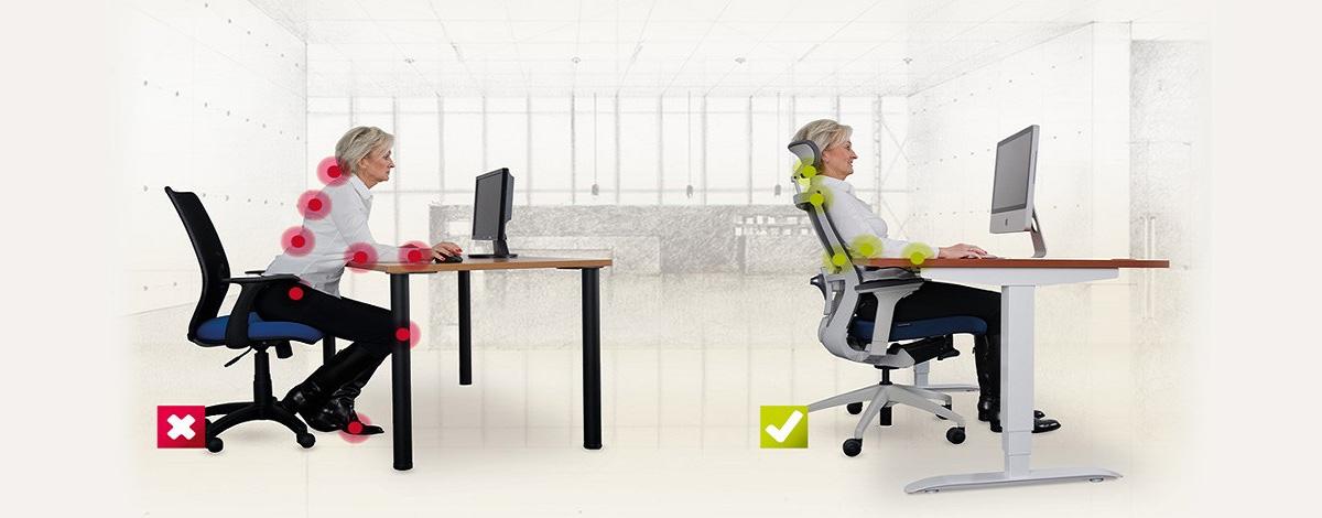 Zdravá práce v kanceláři